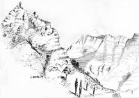 berglandschaft-federzeichnung-1974