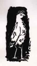 vogel-3-pinselzeichnung