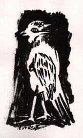 vogel-4-pinselzeichnung